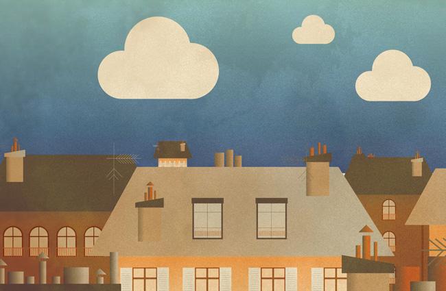 une-toit-illustration